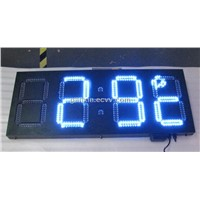 4digits blue unique product remote control led clock