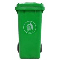 50,100,120, 240 Litre Small Plastic Green Recycling Wheelie Bin Storage for Schools