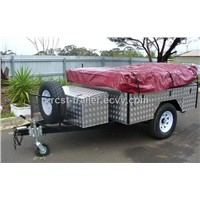 7x4ft Heavy Duty off Road Aluminum layer Camper Trailer  RC-CPT-08
