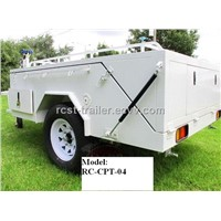 7x6ft Heavy Duty off Road Powder Coated Hard Floor Camper Trailer RC-CPT-04
