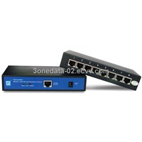 8-Port RS-232/485/422 to Ethernet Serial Server