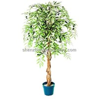 ARTIFICIAL TREE OLIVE TREE 306-13G3T3D4'