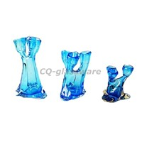 Glass Candle Holder (CQCH-003)