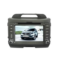 Car DVD Player for Kia Sportage R 2011 with GPS, Bluetooth and iPod
