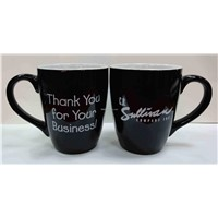 Ceramic cup with Color Glazed and 14oz Capacity, Customized Logos are Accepted
