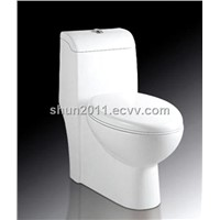 Ceramic one-piece  toilet ( saving water and durable )