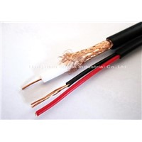 Coaxial Cable RG59 with power cord