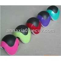 Color Mini Trangle Body Massager with LED