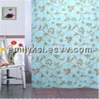 Defferent design pvc shower curtain