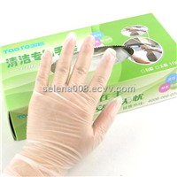 Hospital Cleaning Disposable Vinyl Gloves