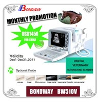 Digital Portable Veterinary Ultrasound Scanner BW510V