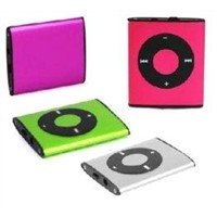 Digital USB Mini Clip Mp3 Player with Built - in Flash Memory BT-P012