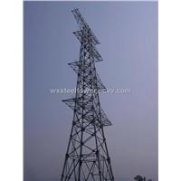 Electric lattice steel tower