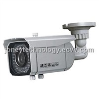 CCTV  IR Waterproof Camera with Bracket  (JYR-1801S54) zoom& Focus externally adjust