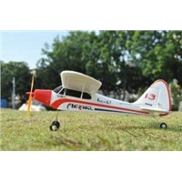 Fly Steadily Mini 2.4ghz 4ch Piper j3 Cub Remote Controlled Beginners RC Airplanes