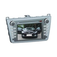 GPS Car Navigation System for Mazda-6 Ruiyi, Multifunctional IR Remote Control
