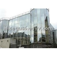 Glass curtain wall