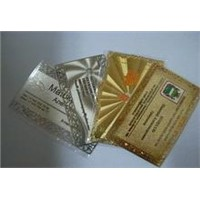 Golden card/ metal card/silver card