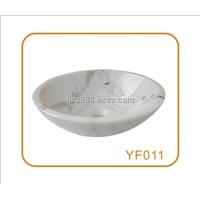 Hezhou White A (Guangxi White) Marble Wash Basin