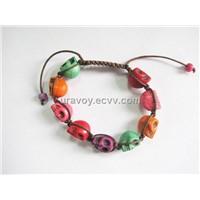 Hot selling! fashion shamballa skull bracelets for girls ,women