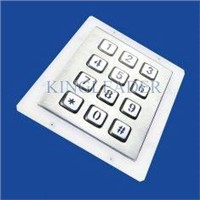 IP65 Metal Numeric Keypad for vending machines ticketing machines,workstation
