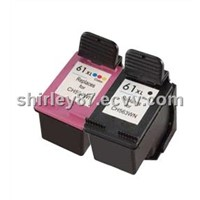 Ink cartridge compatible for HP 61 black,color