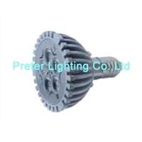 LED Spotlight E27 5X1W bulb