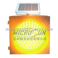 LED roadway signal traffic solar light