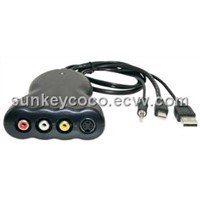 LKV386 Mini DisplayPort to Composite Video and S-Video Converter