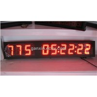 Outdoor high brightness countdown remote control led clock