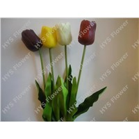 PU flower with high quality for Christmas decoration: Tulip