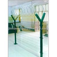 Razer barbed wire fence