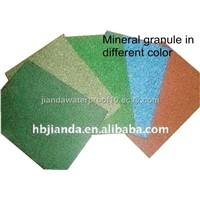 SBS modified bituminous waterproof membrane with mineral granules