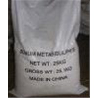 Sodium metabisulfite 98% for waste water treatment
