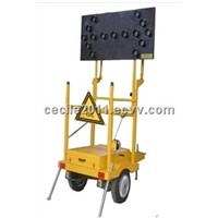 Solar Mobile Traffic Light