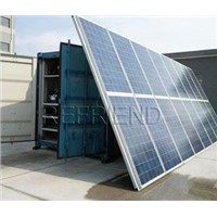 Solar Power Container Cold Room