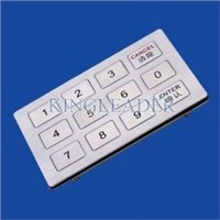 USB / PS2 Interface Metal Numeric Key pad for ATM, ADM, CDM MKB120-12F