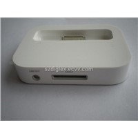 Universal docking station for iPhone 4
