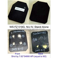 WS FZ 510A Ceramic Hard Bullet Proof Plate