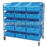 Wheeled Hand Truck with Tray