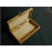 Wooden Hinged Top Box