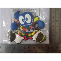 World Expo 2010 Mascot Haibao PVC Fridge Magnet