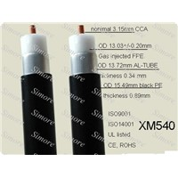 XM540 coaxial/trunk cable ( same as QR540)
