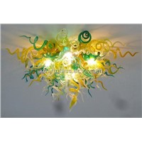 XO art glass ceiling lamp xo-201113 and crystal ceiling lamp and hand-blown ceiling lamp