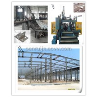 automated structural steel processing machines for drilling punching