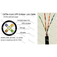 cat5e LAN cable UTP outdoor , network cable