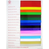Color glassy coated paper