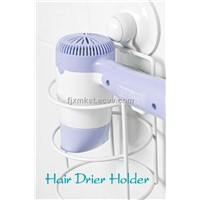 easy installation hair drier holder with suction cup