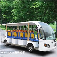 electric low speed sightseeing vehicles