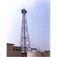 fabricating the telecom tower
